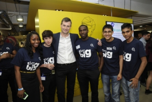 Start small, Think Big: Joining up people to make a big difference at O2