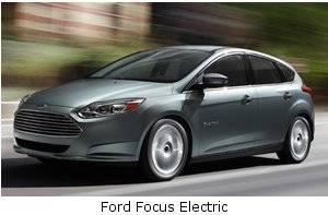 All electric Ford Focus