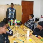 Akhona at Homestead on Mandela day