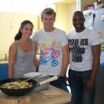 Bianca, Richard, Agripa - Wok alot of fun, a fab meal!