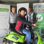 Richard, Wade, Akhona-Elec Scooter