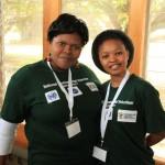 Volunteers at the Green Hub