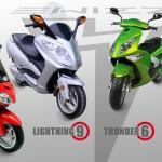 ewizz electric scooter range